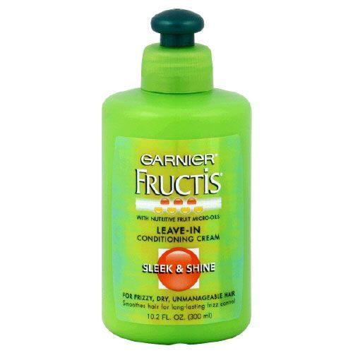 Fructis Leave-In Conditioning Cream, Sleek & Shine