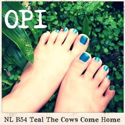Nail Lacquer – Teal the Cows Come Home