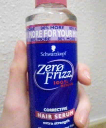 Zero Frizz – Corrective Hair Serum