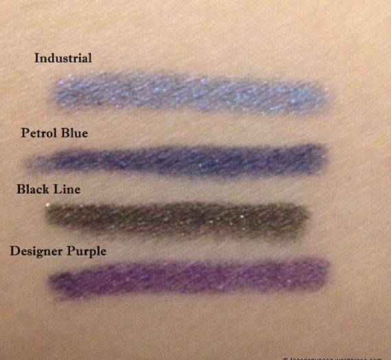 Pearlglide Intense Eye Liner in Petrol Blue