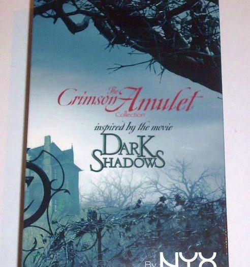 Dark Shadows Crimson Amulets Palette