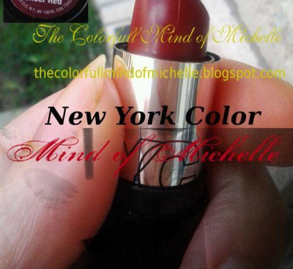 309B Sheer Red