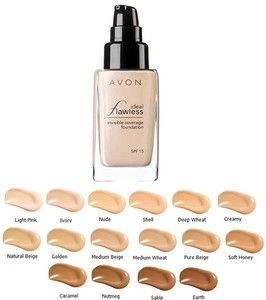 Ideal Flawless Invisible Coverage Liquid Foundation SPF 15