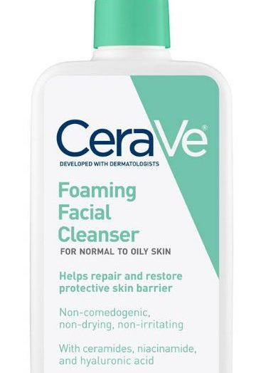 Foaming Facial Cleanser – Normal to Oily Skin