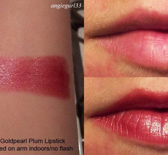 Super Lustrous Lipstick – Gold Pearl Plum