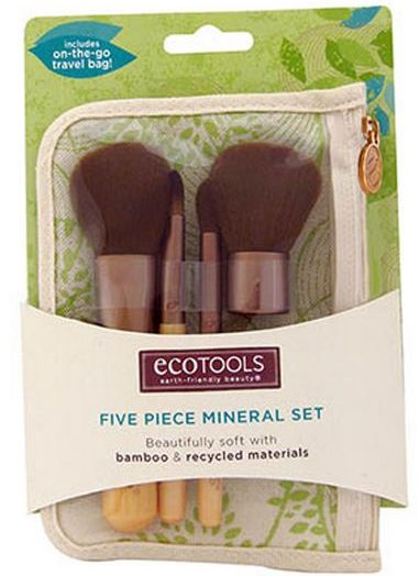 Five Piece Mineral Set (4 brushes, 1 case)