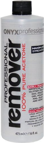 Onyx Professional – 100% Pure Acetone Nail Polish Remover