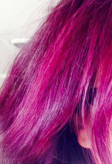 PURPLE HAZE Semi-Permanent Hair Color Creme