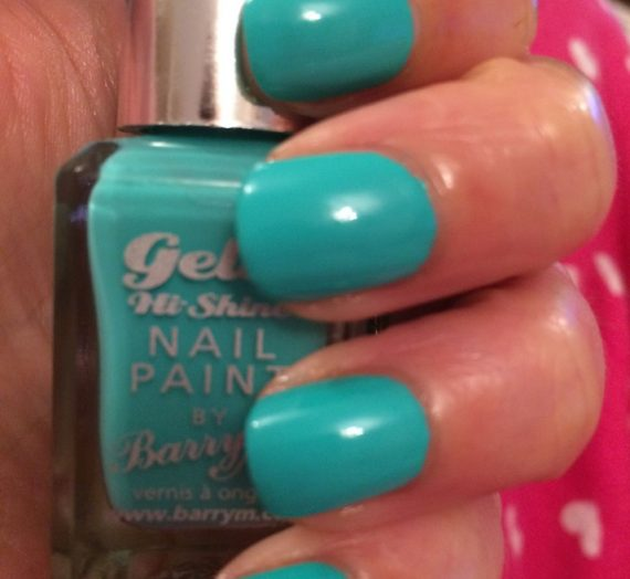 Gelly Hi-Shine Nail Paint – Greenberry