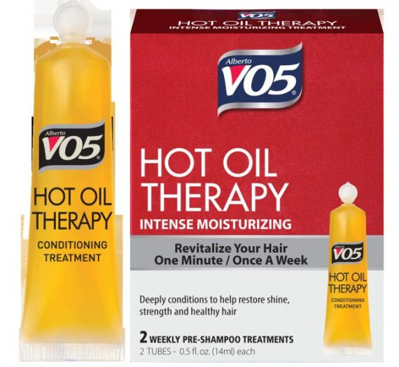 Hot Oil Therapy Moisturizing Treatment