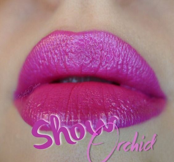 Amplified Lipstick – Show Orchid