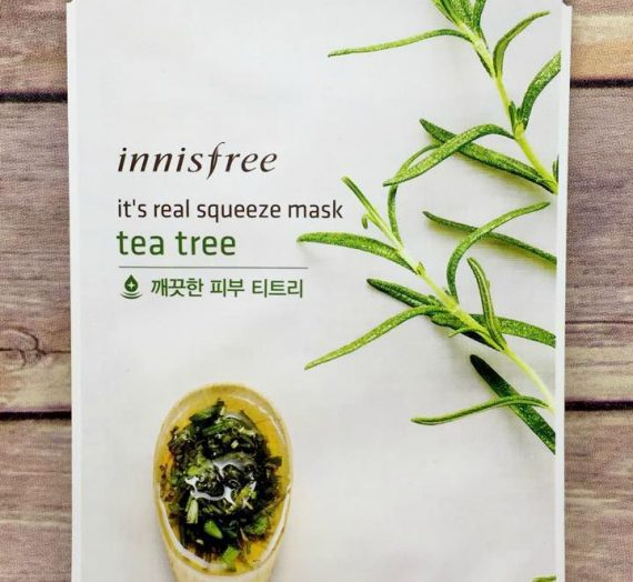 It's Real Squeeze Tea Tree Mask