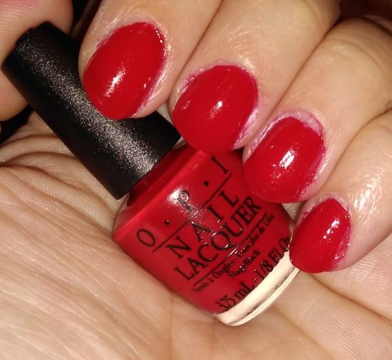 Nail Lacquer – Big Apple Red