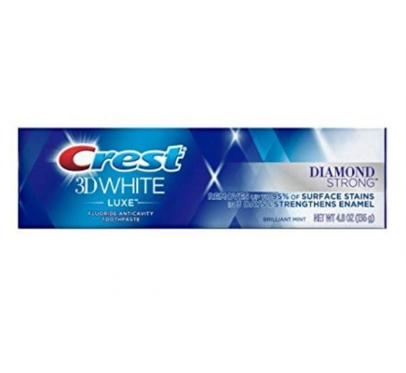 3D White Luxe Diamond Strong Toothpaste – Brilliant Mint