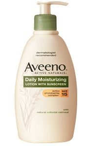 Daily Moisturizing Lotion with Sunscreen spf 15