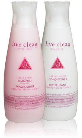 Pink Fire Colour Protect Shampoo