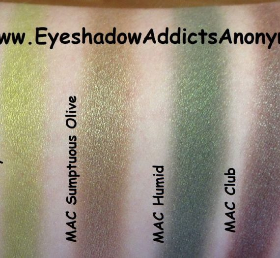 Eye Shadow – Sumptuous Olive