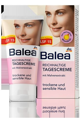Reichhaltige Tagescreme für trockene und sensible Haut