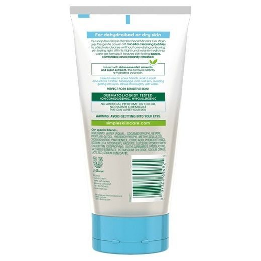 Water Boost Micellar Cleansing Facial Gel Wash