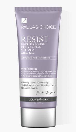 Skin Revealing Body Lotion 10% AHA with Glycolic Acid & Antioxidants