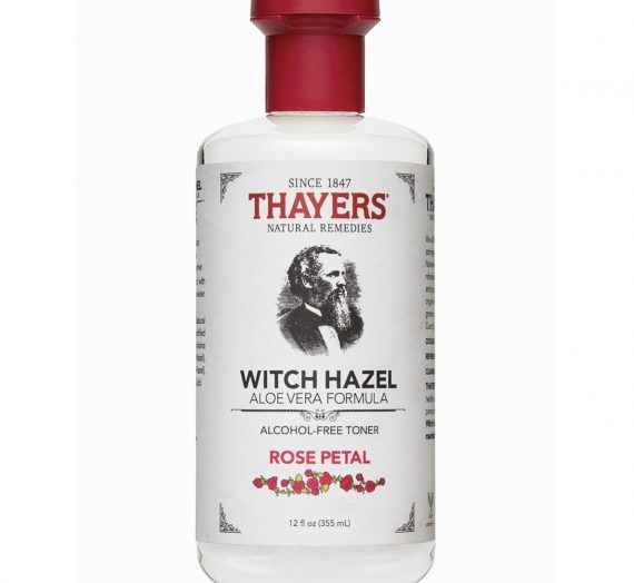 Witch Hazel Alcohol-Free Toner – Rose Petal