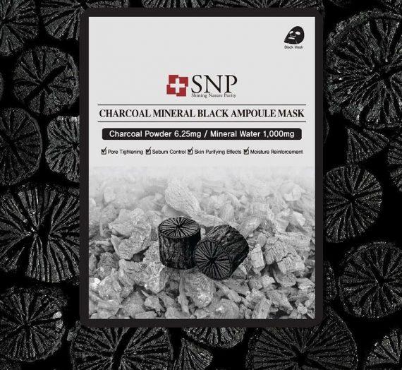 Charcoal Mineral Black Ampoule Mask