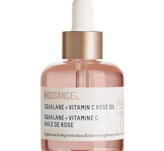 Squalene + Vitamin C Rose Oil