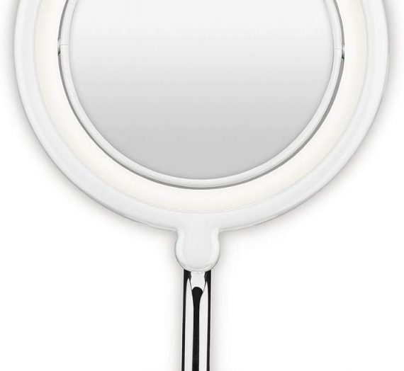 Soft Halo Lighted Mirror