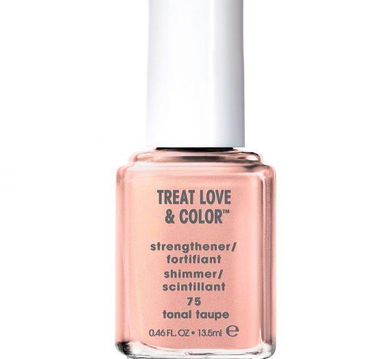 Treat Love & Color Nail Polish & Strengthener – Tonal Taupe