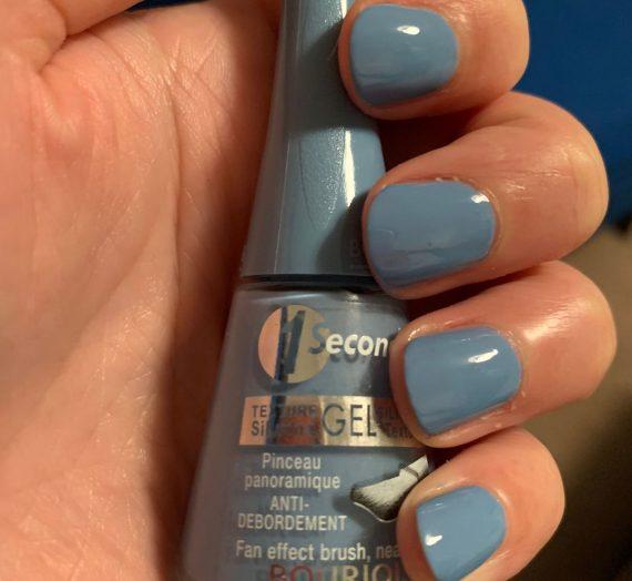 1 Seconde Nail Polish – Bleu Water
