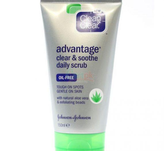 Advantage Clear & Soothe Daily Scrub