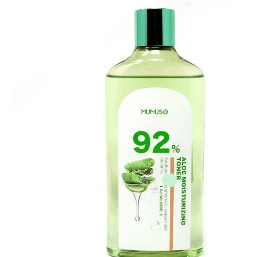 MUMUSO Aloe Vera Gel Toner Moisturizer Water