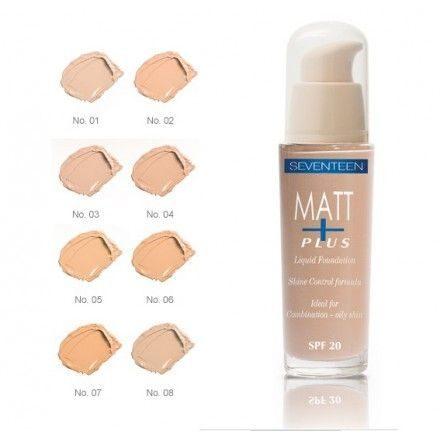 Matt Plus Shine Control Foundation