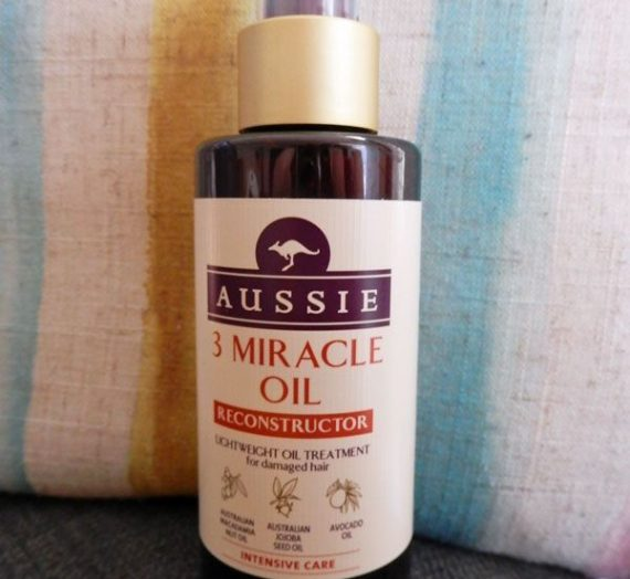 3 Miracle Oil Reconstructor Lightweight Oil Treatment