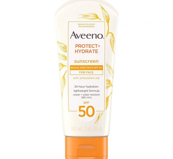 Protect + Hydrate Face Moisturizing Sunscreen Lotion with Broad Spectrum SPF 50