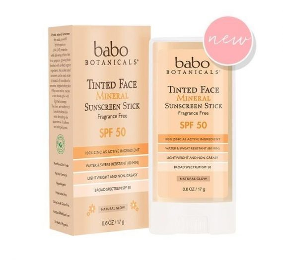 Tinted Face Natural Glow Mineral Stick – SPF 50, Fragrance Free