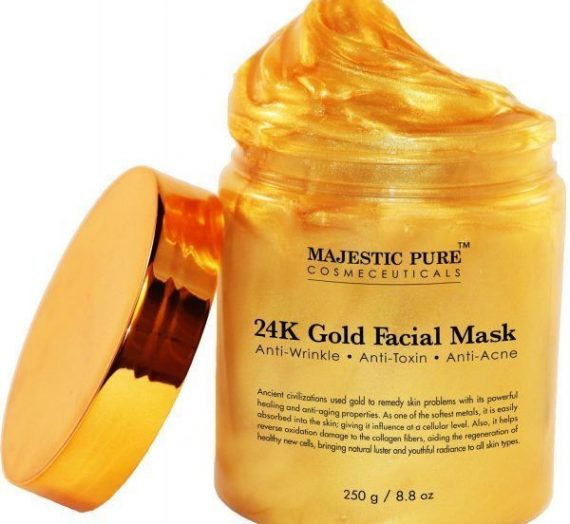 Majestic Pure Cosmeceuticals- 24k Gold Facial Mask