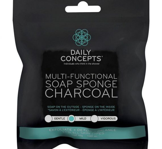 Multi-Functional Soap Sponge Charcoal
