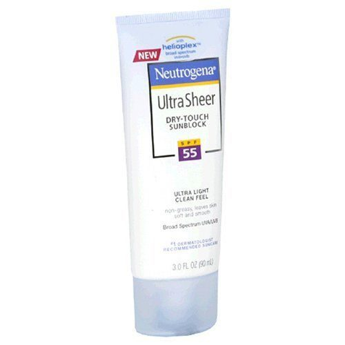 Ultra Sheer Dry-Touch Sunblock SPF 55