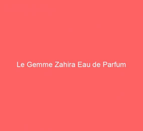 Le Gemme Zahira Eau de Parfum