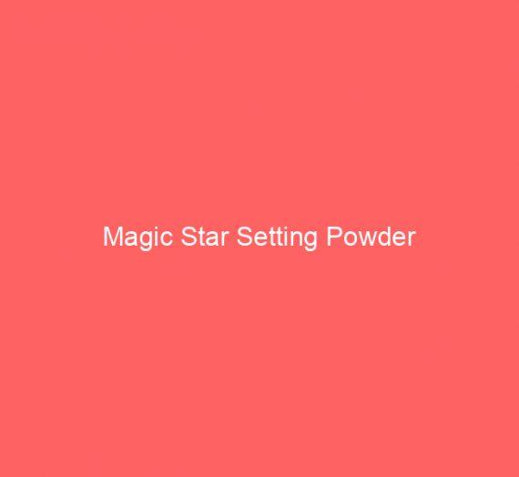 Magic Star Setting Powder