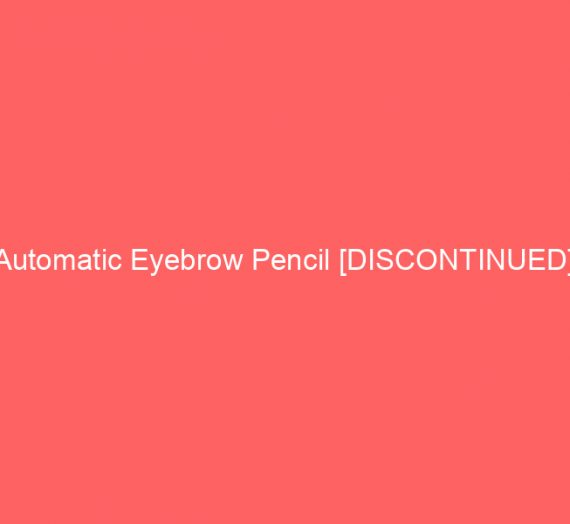 Automatic Eyebrow Pencil [DISCONTINUED]