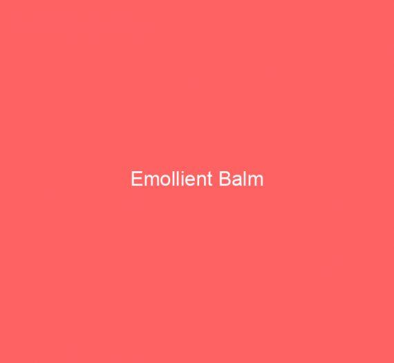 Emollient Balm