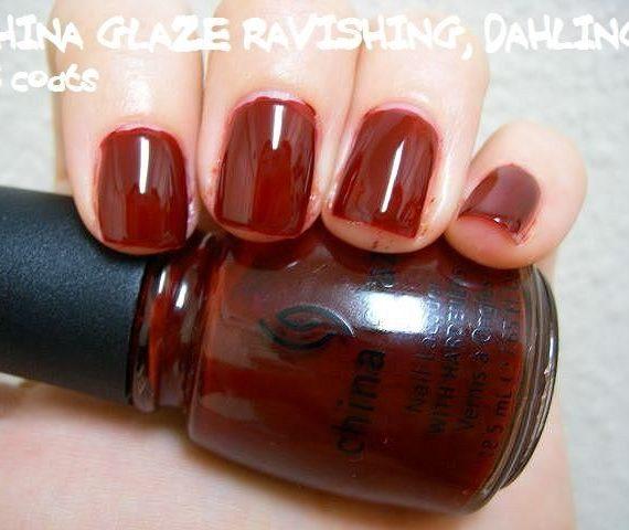 Nail Lacquer – Ravishing, Dahling