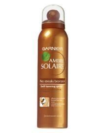 Ambre Solaire No Streaks Bronzer Dry Body Mist