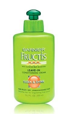 FRUCTIS Sleek & Shine Intensely Smooth Leave-In Conditioning Cream