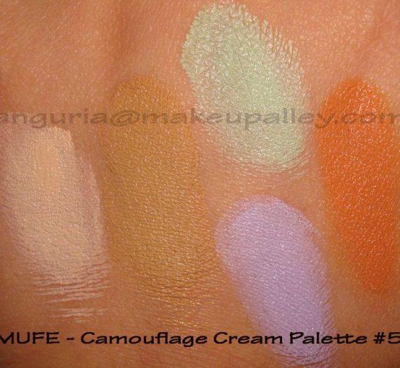 5 Camouflage Cream Palette
