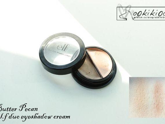 Cream Eyeshadow (duo): Butter Pecan