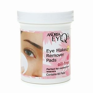 Andrea Eye Q's – Oil Free Eye Makeup Remover Pads
