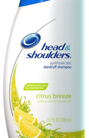 Head & Shoulders Citrus Breeze Shampoo for Oily/Fine Hair